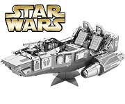 First Order Snowspeeder Star Wars - Metal Earth 3D Model Puzzle