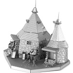 Hagrid Hut Harry Potter - Metal Earth 3D Model Puzzle