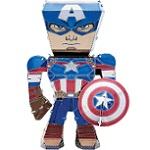 Captain America Marvel Legends - Metal Earth 3D Model Puzzle
