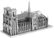 Notre Dame - ICONX 3D Metal Model Puzzle