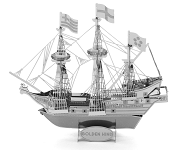 Golden Hind - Metal Earth 3D Model Puzzle