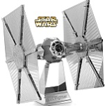 Tie Fighter Star Wars - Metal Earth 3D Model Puzzle