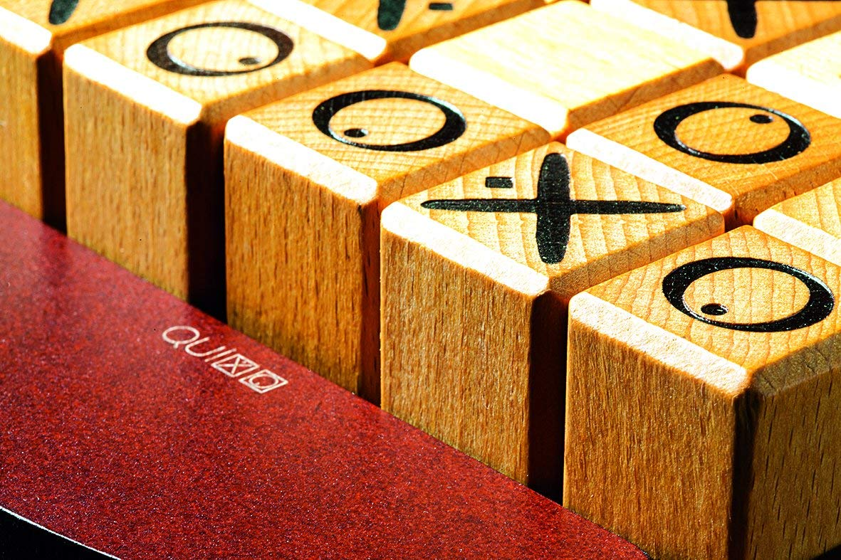 Quixo Classic Wooden Strategy Game By Gigamic