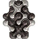 Cast Dot - Hanayama Metal Puzzle