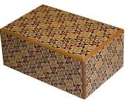 5 Sun 10 Steps Kirichigai - Japanese Puzzle Box