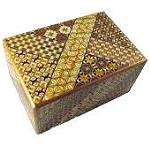 6 Sun 54 Plus 1 Steps Koyosegi Japanese Puzzle Box