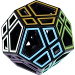 Hollow Skewb Ultimate - Meffert's Rotation Brain Teaser Pu