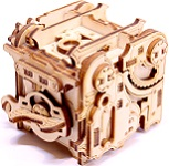 MiniPunk Wooden DIY Kit Puzzle Box