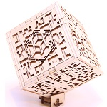 Silver City Wooden DIY Kit Puzzle Box
