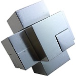 Fortress - Interlocking Brainteaser Metal Puzzle