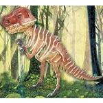 Tyrannosaurus - Colored 3D Jigsaw Woodcraft Kit Wooden Puzzle