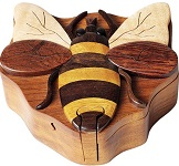 Bee - Secret Wooden Puzzle Box