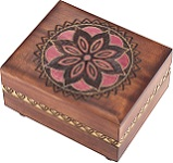 Brilliant Floral - Secret Wooden Puzzle Box
