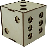 Dice Cube Puzzle Box With 29 Steps To Open By Benno's Magic