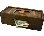 Enigma Secret Puzzle Box Discovery - Money Gift Trick Box