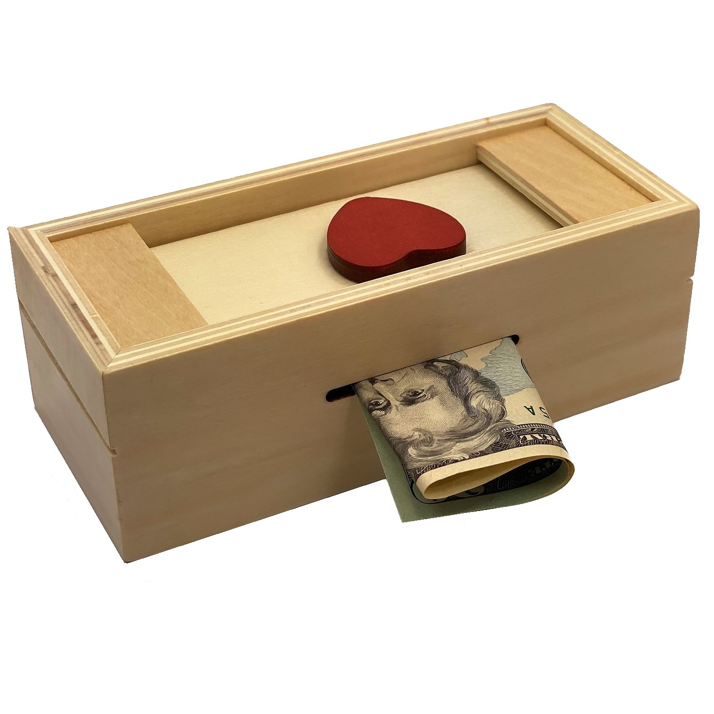 Great White Puzzle Box Secret Compartment holds rigs money