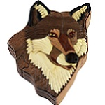 Wolf II - Secret Wooden Puzzle Box