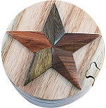 Star - Secret Wooden Puzzle Box