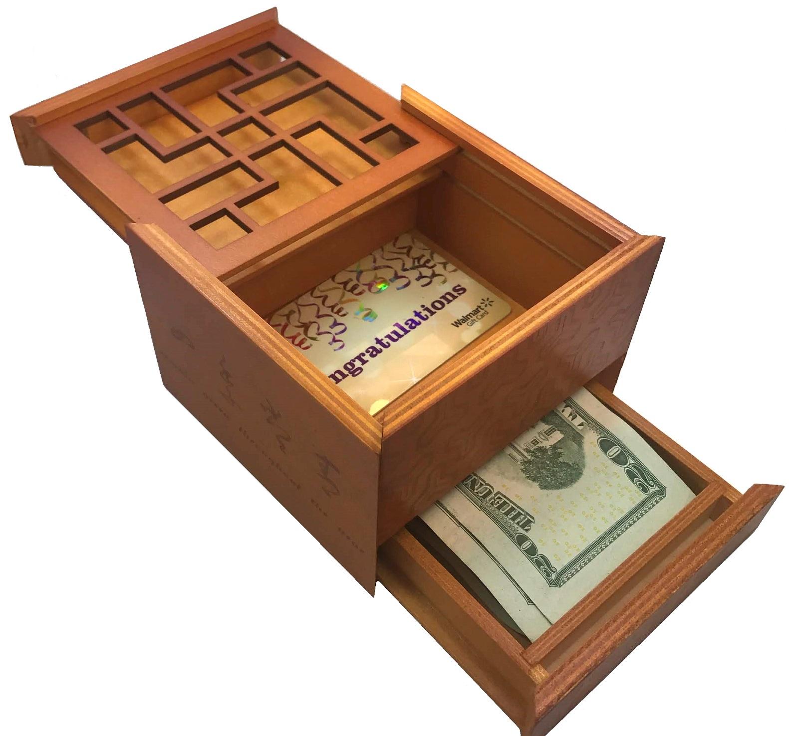 Money Gift Box Puzzle Gift Ideas