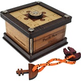 Spiele Puzzle Box 04 - Wooden Secret Box Brainteaser Puzzle
