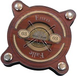 Euro-Falle 03 - Money Wooden Brain Teaser Puzzle