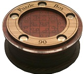 Spiele Puzzle Box 06 - Wooden Secret Box Brainteaser Puzzle