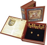 Shut The Box Bookshelf Edition - Wooden game