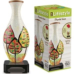 Lifestyle 3D Puzzle Vase - Spring Trees