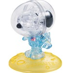 3d Crystal Puzzle Snoopy Astronaut