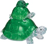 3d Crystal Puzzle Turtles