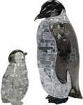3d Crystal Puzzle Penguin & Baby