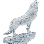 3d Crystal Puzzle Wolf - Clear Color