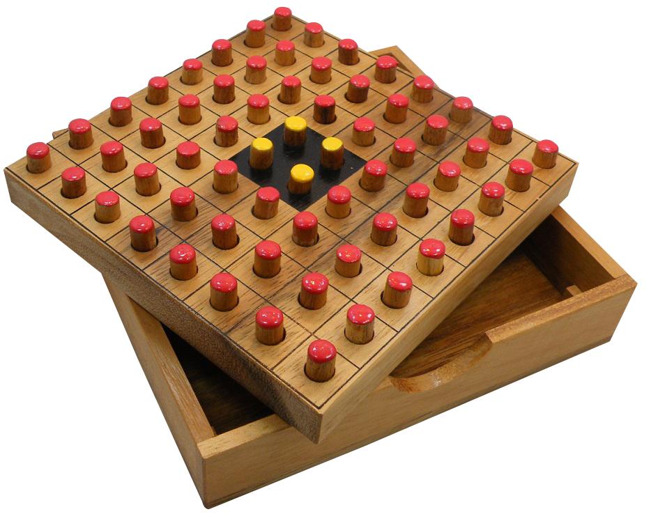 Othello Reversi Wooden Strategy Game