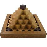 Steps Pyramid - Wooden Puzzle Brain Teaser