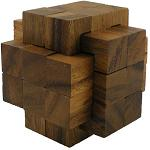 18 Pieces Burr - Wooden Puzzle Brain Teaser