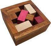 Checkout Packing Problem Wooden Puzzle