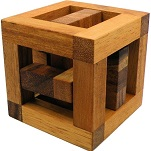Catch Cage - Wooden Brain Teaser Puzzle