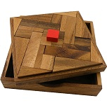 Impossible Square - Wooden Puzzle Brain Teaser
