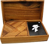 Pento and Tangram Puzzles