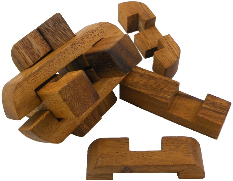 Nexus Burr - Wooden Puzzle Brain Teaser