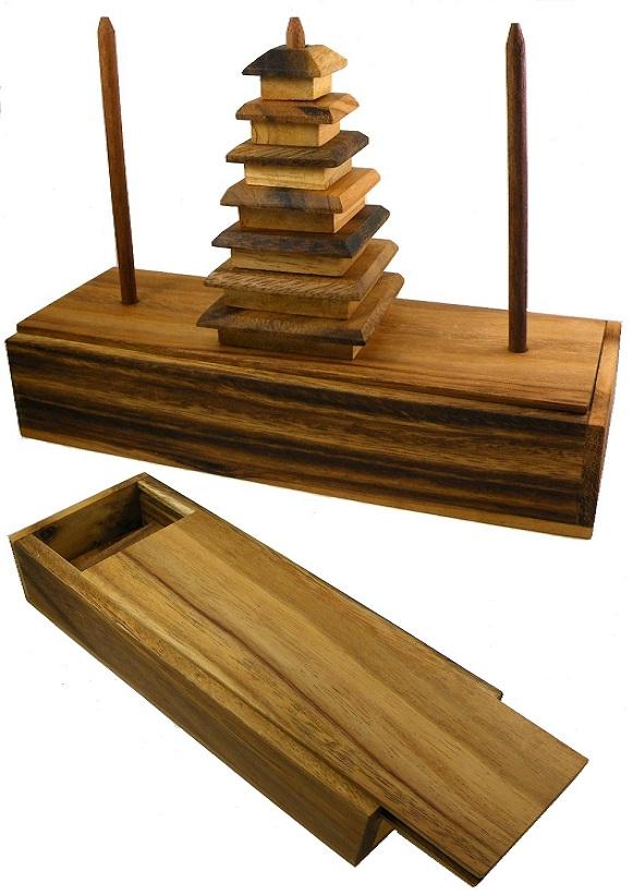Wooden Small Parrot Toys Bridge Ladder for Rat Hamster