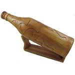 Wine Bottle 3D Jigsaw Wooden Puzzle Brain Teaser