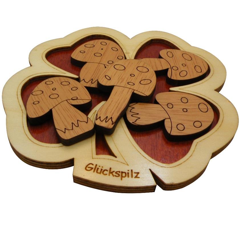 Gluckspilz – Packing Problem Wooden Puzzle