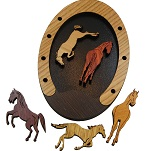 Gallop - Wooden Horses Packing Problem Puzzle
