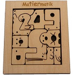 Matiermatic - Wooden Packing Problem Brainteaser Puzzle