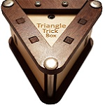 Triangle Box - Secret Wooden Puzzle Box By Constantine