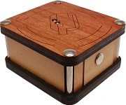 Centrale Box - Wooden Secret Puzzle Box By Constantin
