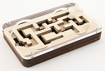 Two Keys - Wooden Puzzle Maze Brain Teaser