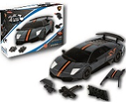 Lamborghini LP 670 - Carbon Grey 3D Jigsaw Puzzle Car Kit