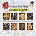 Brain Busters - 8 Brain Teasers Puzzle Set
